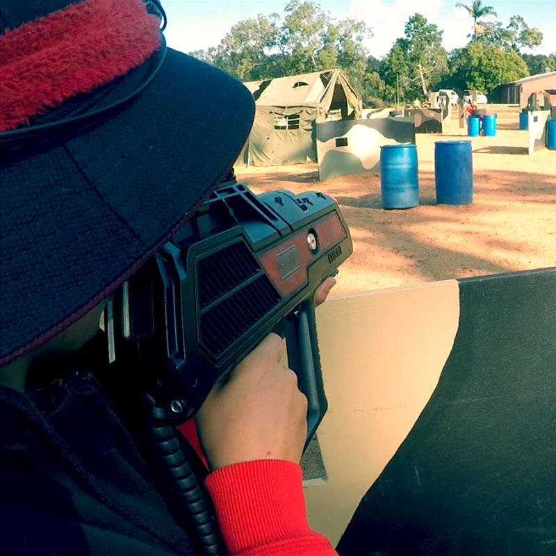 Camp Activity - Laser Tag